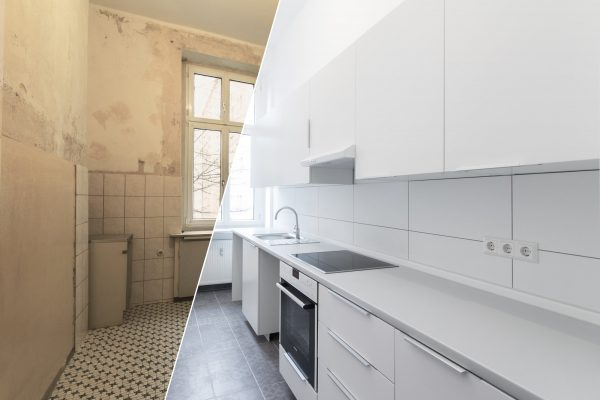 Installation of kitchen and bathrooms & wet rooms,